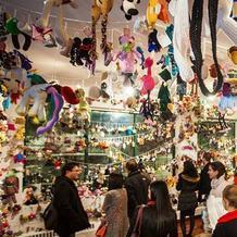 几千毛线玩偶齐聚一堂 第2届世界Amigurumi玩偶展