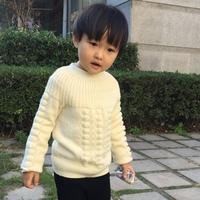 从上往下圈织贝壳花儿童毛衣视频教程