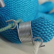 钩针棒针编织助手:导纱器/导线顶针/指套分线器/带线器