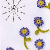 立体小碎花