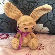 忧伤兔 钩针可爱兔子图解
