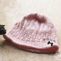 最新款宝宝毛线帽子编织视频 萌芽棒针宝宝帽子的编织方法