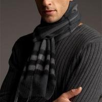 简单易学男士围巾的各种围法之11种长围巾的系法图解