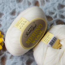 罗莎琳达·RL6016美丽诺毛蕾丝 意大利特级美丽诺丝光防缩细羊毛 超细毛蕾丝 披肩配线毛衣线