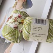 罗莎琳达·RL5003段染蕾丝棉 爱尔兰段染蕾丝线手工钩编线