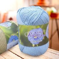 罗莎琳达·RL5009抗菌亚麻棉 春夏棉线环保护肤棉手工钩针棒针线