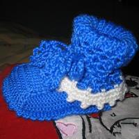 超详细高筒钩织结合宝宝毛线鞋编织教程教你怎么编织宝宝鞋