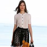 看时装周学习毛衣款式设计 2016早春度假系列Dior大牌女士毛衣款式