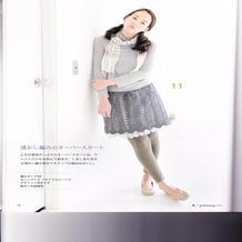 漂亮的少女钩针半身裙