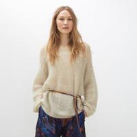 春夏新款女士毛衣款式26款 时装周2016度假系列米色白色驼色毛衣