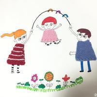毛线打造独一无二的美术作品 零线创意之亲子小手工