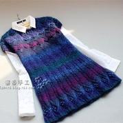 女士毛衣编织款式之棒针编织志田毛衣图解