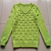 儿童毛衣编织款式之云棉2男童V领长袖毛衣