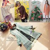 2016年第14期周热门编织作品:2016春夏手工编织女士毛衣款式13款