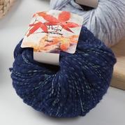 编格尔PE-884节节棉 结子亮丝羊毛线粗棒针围巾帽子线