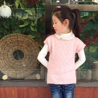 儿童毛衣编织款式之女童棒针背心