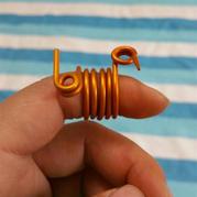 编织工具改造之毛线防解别针DIY带线器