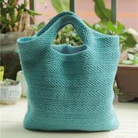 手工編織包教程之簡約鉤針手提包包