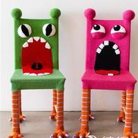 椅子脚也可以如此萌萌哒 由简及繁零线打造个性椅子装饰系列