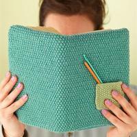 """编织创意生活之为书籍与笔记本穿一件美丽""""毛线衣"""""""