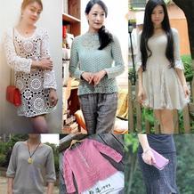 201618期周热门编织作品:2016春夏手工编织毛衣款式18款