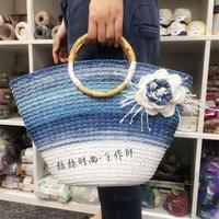 古風文藝風格編織配飾 編織人生達人手編實用時尚編織物