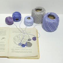 秘鲁艺术家Ana Teresa Barboza 用毛线刺绣、编织创作的奇幻作品