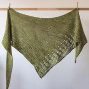 女士手工编织服饰之简约知性棒针三角披肩