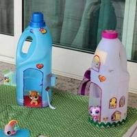 瓶盖、空瓶为孩子打造趣味玩具 这个夏天瓶瓶罐罐不要再扔了