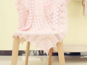 卡农皇室婴儿毯织法视频(3-1)萌芽快乐编织机LK150机织中心花样