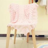 卡农皇室婴儿毯织法视频(3-3)萌芽手工棒针编织蕾丝花边
