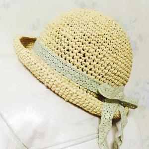 棉草钩帽教程之儿童钩针小礼帽的钩法