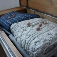 毛衣保养篇 如何打理手工编织物