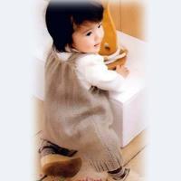 宝宝毛线裤编织视频教程教你织可爱宝宝背带裤(2-2)