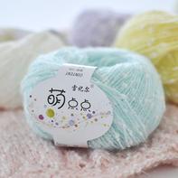 雪妃尔萌点点 婴儿点点线/儿童手工编织线/宝宝线