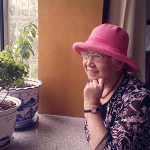 时尚编织帽子之中老年钩针亚麻遮阳帽