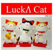 Lucky Cat钩针招财猫图解翻译教程