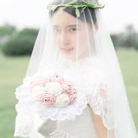 创意婚礼用品编织视频教程教你钩蔷薇新娘手捧花(2-1)