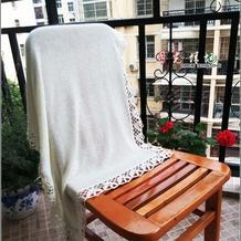 适合新手练机的快乐编织机LK150机织蕾丝花边毯