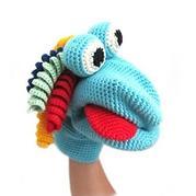毛线手偶轻松做 手偶的制作方法步骤图
