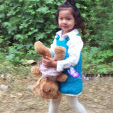 儿童钩针背带裙编织视频教程(2-1)
