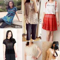 201624期周热门编织作品:女士夏季毛衣及裙子18款