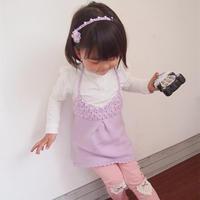 3天即可完成的儿童钩织结合吊带裙编织视频教程