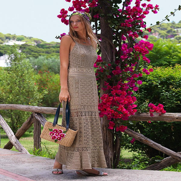五彩繽紛的夏天——各種顏色的鉤針美裙欣賞