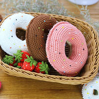 零基础编织钩针立体甜甜圈视频教程