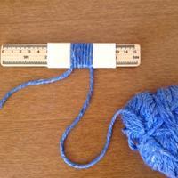 如何准确知道国产毛线的粗细(DIY测量毛线的小工具)