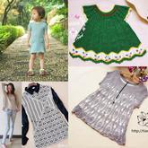 201628期周热门编织作品:手工编织女士儿童夏季服饰17款
