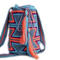 大熱的wayuu包簡單編織說明和包身圖解