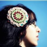 零线编织创意发夹 让这个夏天从头开始美美的