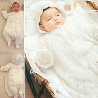 可爱又实用的新生儿编织服饰套装39款 为宝宝准备的第一份手编礼物